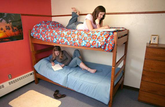 Dos estudiantes con suerte...