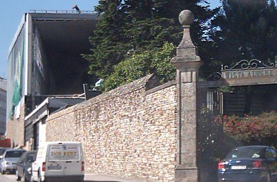 Entrada barrio Vista Alegre