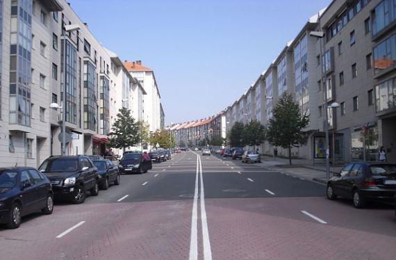 Barrio de Conxo en Compostela