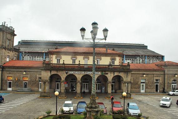 Estación de tren de Santiago