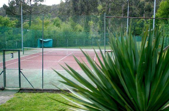 pista de tenis del Hotel Los Tilos