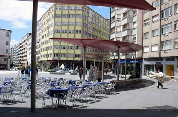 Terraza Plaza Roja