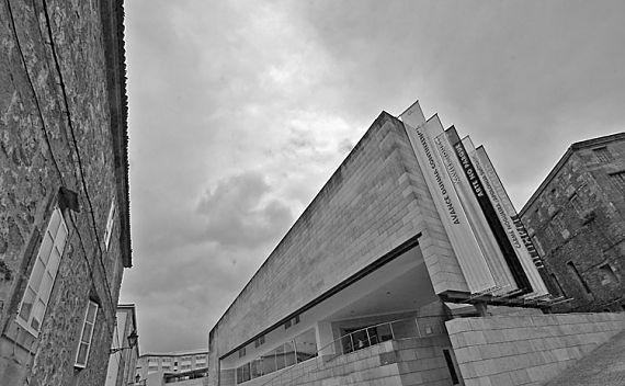 Edificio del CGAC en Santiago de Compostela