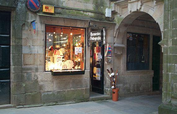Tienda de Souvenirs en Compostela