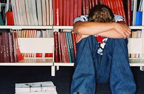 estudiante apenado