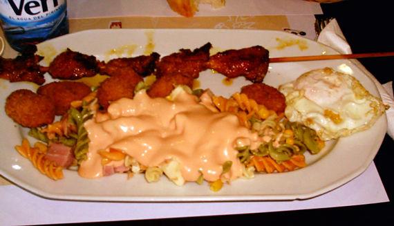 Foto de un plato combinado
