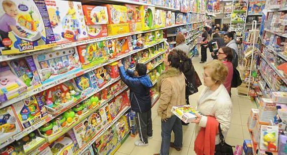 Foto de una tienda de juguetes