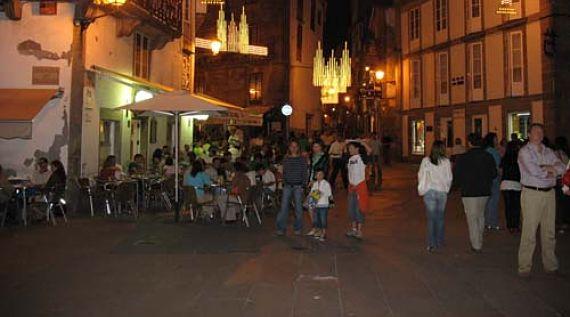 Compostela de noche