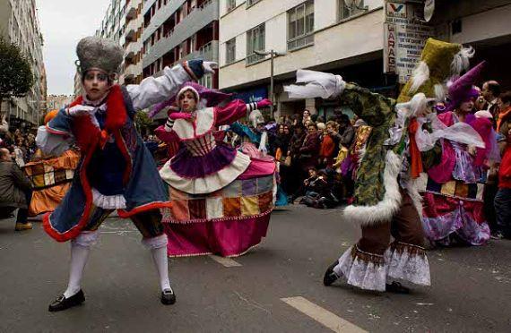 Desfile de Carnaval en Compostela