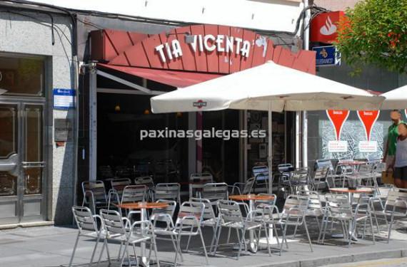 Tía Vicenta, en Santiago