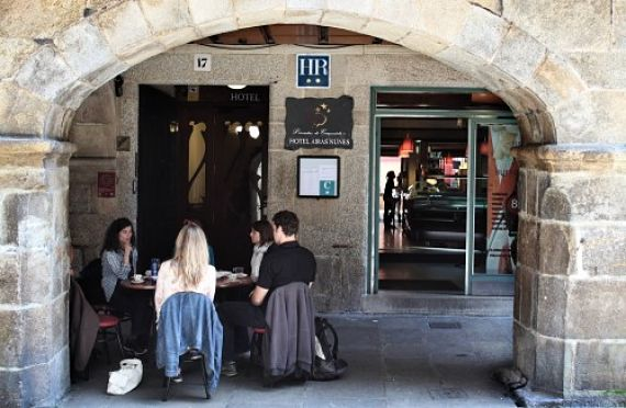 Airas Nunes en Santiago de Compostela