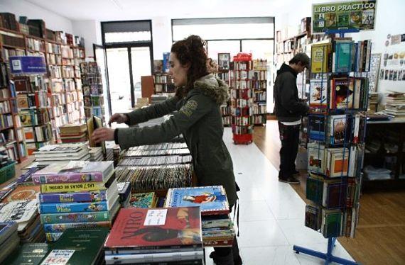 Librería Follas Vellas (Rosalia de Castro)