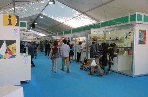Feria del Libro de 2013 en Compostela