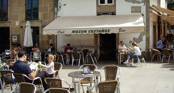 Cestaños, en Compostela