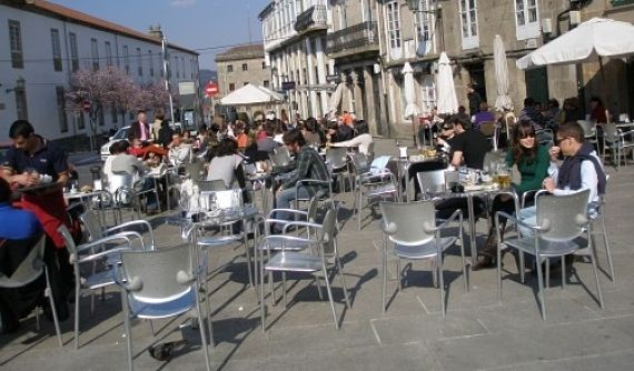 Terrazas en Santiago de Compostela