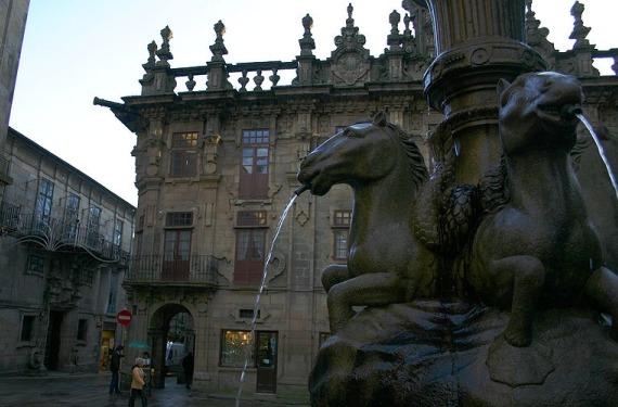 Plaza en Santiago
