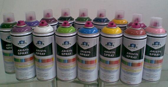 Botes de spray para hacer graffitis