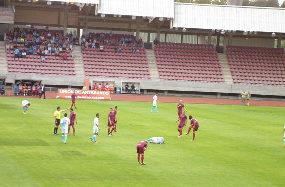 Imagen del Compostela-Avilés