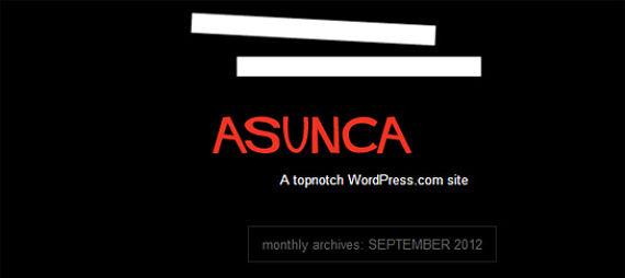 Captura de pantalla del blog de Asunta Basterra