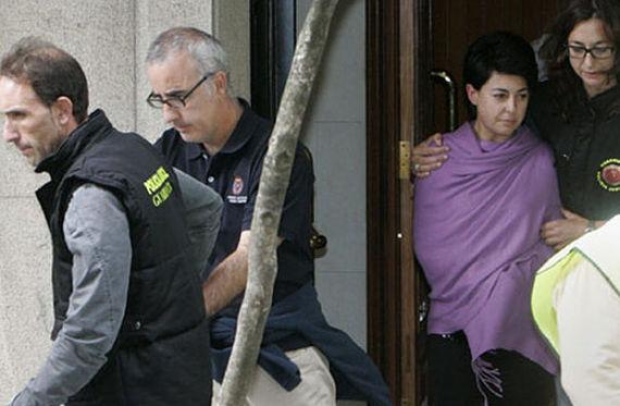 Los padres de Asunta Basterra en el momento de la detención
