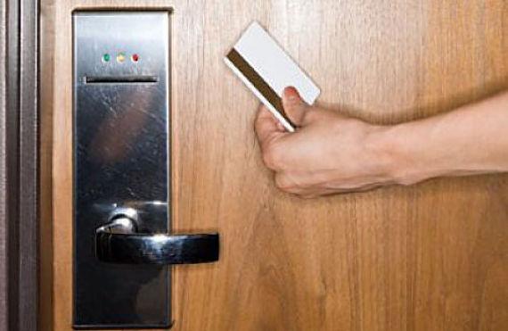 Tarjeta llave de un hotel