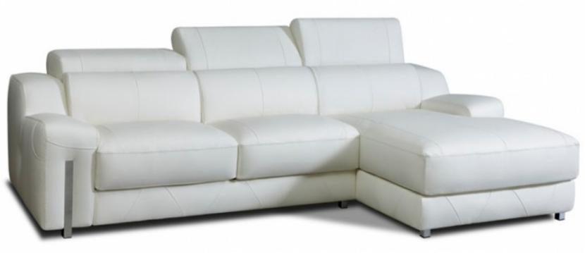 Sofá de piel Lazio